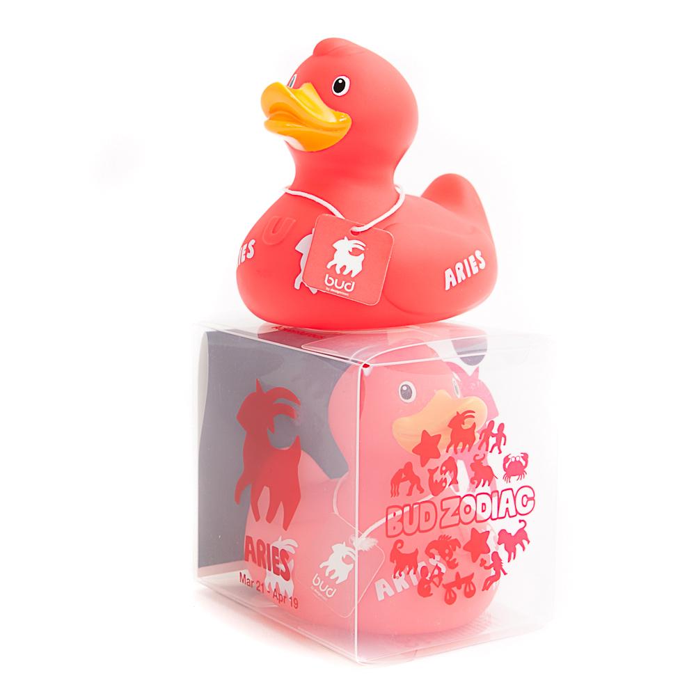 BUD Aries Zodiac Duck